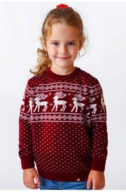 Свитер Рождественский с оленями