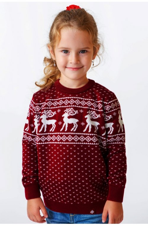 Светр Різдвяний з оленями