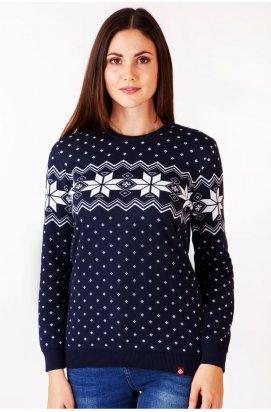 Светр Різдвяний з зірками жіночий