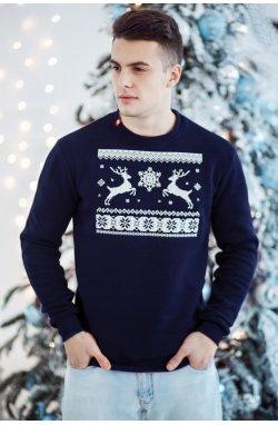 Світшот Різдвяний з оленями
