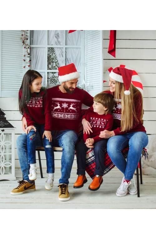 Свитер с оленями - Рождественская коллекция свитшотов