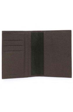 Обложка для паспорта Piquadro BK SQUARE/D.Brown PP1660B3_TM