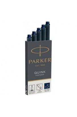 Картриджи Parker Quink /5шт. т.син. 11 410BLB
