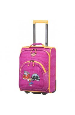 Чемодан детский Travelite HEROES OF THE CITY/Pink TL081687-17