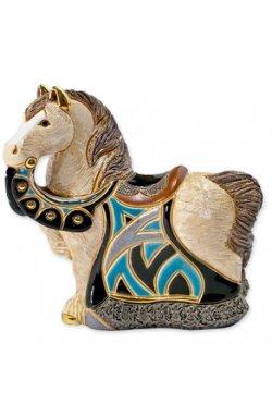 Фигурка De Rosa Rinconada Small Wildlife Конь Королевский Синий Dr016b-sw-47