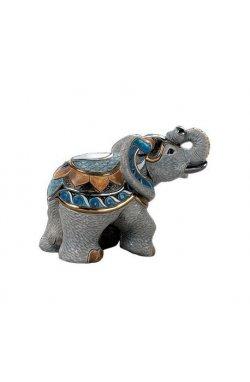 Фигурка De Rosa Rinconada Emerald Слон Индийский Серый Dr1015-21