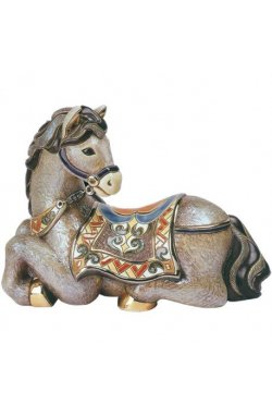Фигурка De Rosa Rinconada Large Wildlife Конь отдыхающий (лим.вып. 1000 шт) Dr446-48