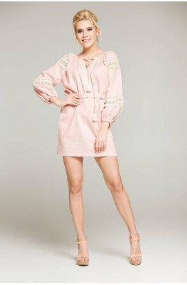 Платье 409-PW01 - Розовый