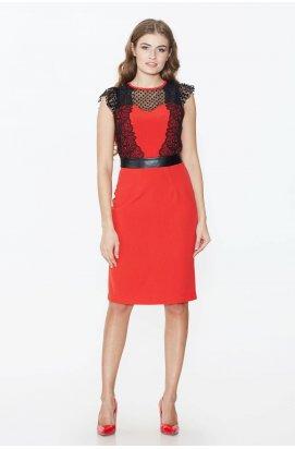 Платье 692-PW02 - Красный