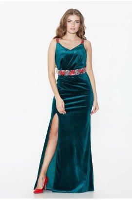 Платье 691-PW01 - Зеленый