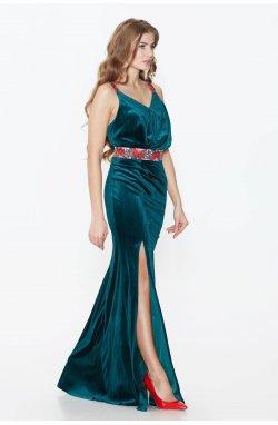 Платье Pretty Woman 691-PW01 - Зеленый