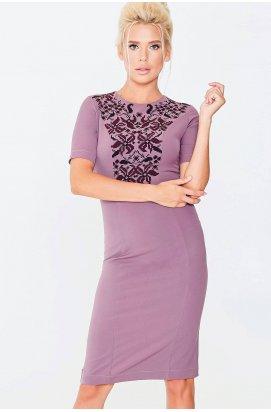 Платье 637-PW01 - Лиловый