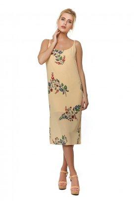 Платье 297-PW02 - Персиковый