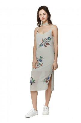 Платье 297-PW01 - Серый