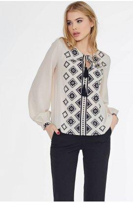 Блуза 526-PW02 - Бежевый