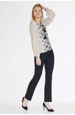 Блуза Pretty Woman 526-PW02 - Бежевый