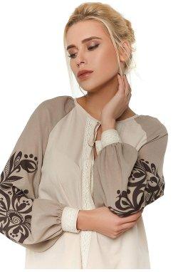 Блуза Pretty Woman 296-PW02 - Бежевый