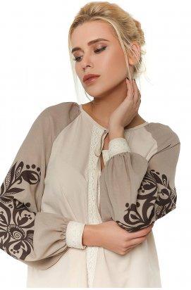 Блуза 296-PW02 - Бежевый