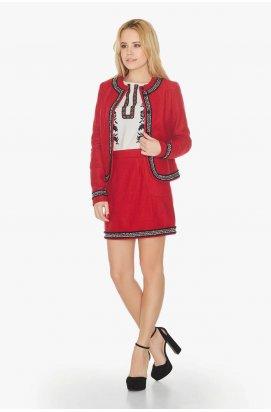 Жакет 705-c01 - Красный