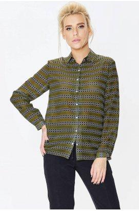 Рубашка 661-PW02 - Зеленый