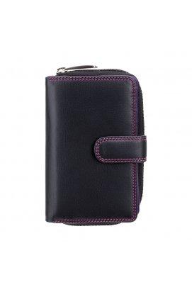 Гаманець жіночий Visconti R13 Carmelo c RFID (Black Berry)