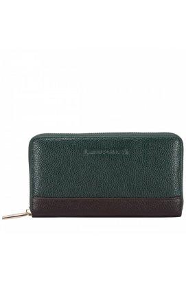 Гаманець жіночий Smith & Canova 26800 Althorp (Green-Brown)