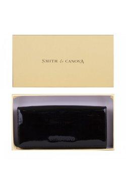 Кошелек женский Smith & Canova 28609 Haxey (Black Patent)