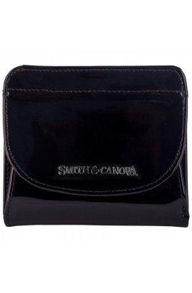 Гаманець жіночий Smith & Canova 28610 Haxey (Black Patent)