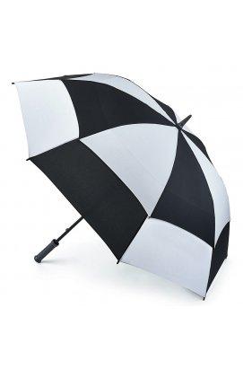 Зонт-гольфер Fulton Stormshield S669 Black White (Черно-Белый)