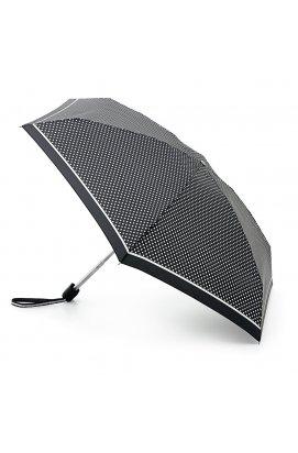Зонт женский Fulton Tiny-2 L501 Classics Mini Spot (Горох)