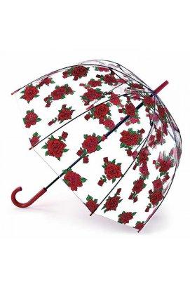 Зонт женский Fulton L042 Birdcage-2 Tattoo Rose (Тату из роз)