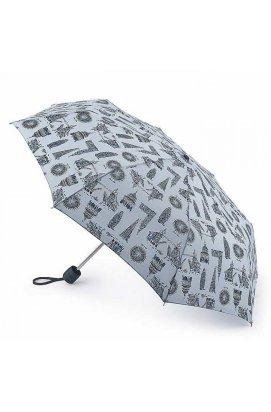 Зонт женский Fulton Stowaway-24 G701 London Landmarks (Достопримечательности Лондона)