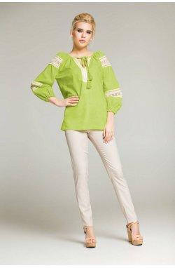 Блуза NENKA 410-PW01 - Салатовый
