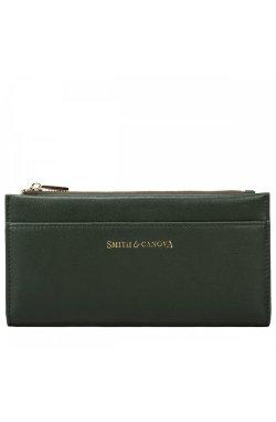 Кошелек женский Smith & Canova 26811 Althorp (Dk Green)