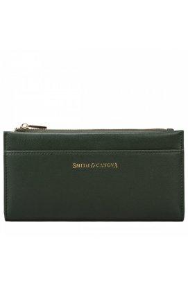 Гаманець жіночий Smith & Canova 26811 Althorp (Dk Green)