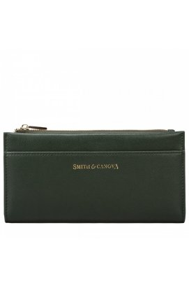 Кошелек женский Smith & Canova 26811 Althorp (Dk Green)