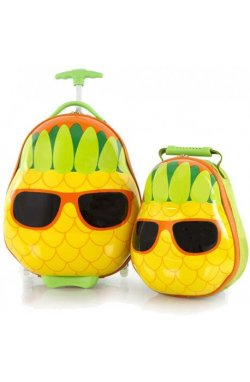 Набор Чемодан на 2 колесах + Рюкзак Heys TRAVEL TOTS/Pineapple He13030-3198-00