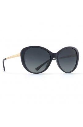 Женские солнцезащитные очки INVU B2840A - бабочки, Цвет линз - серый