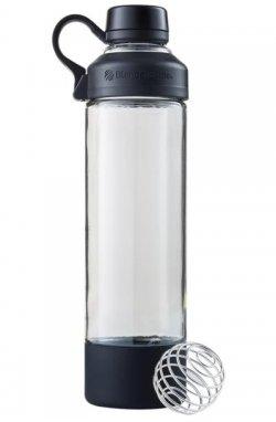 Спортивная бутылка-шейкер BlenderBottle antra Glass Black (СКЛО) 600мл (ORIGINAL)