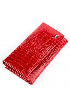 Гаманець жіночий CANPELLINI 17041 шкіряний Червоний Червоний