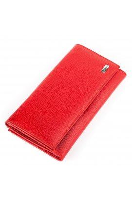 Гаманець жіночий CANPELLINI 17043 шкіряний Червоний Червоний
