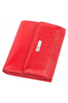 Кошелек женский KARYA 17147 кожаный Красный Красный