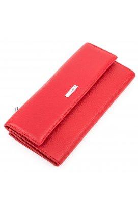 Кошелек женский KARYA 17161 кожаный Красный Красный