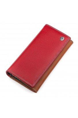 Гаманець жіночий ST Leather 18302 (SB634) шкіряний Червоний