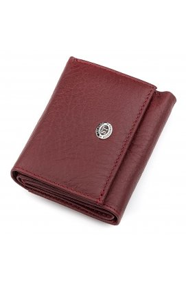 Кошелек ST Leather 18324 (ST440) кожа Бордовый