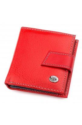 Кошелек женский ST Leather 18337 (SB430) компактный кожаный Красный Красный