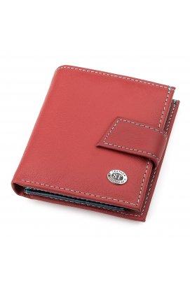 Кошелек женский ST Leather 18338 (SB430) из натуральной кожи Бордовый