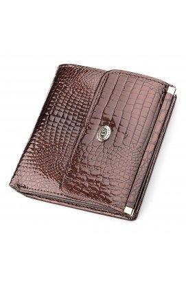 Кошелек женский ST Leather 18354 (S1101A) лакированная кожа