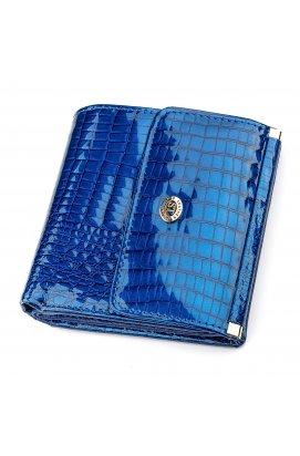 Кошелек женский ST Leather 18356 (S1101A) кожаный Синий