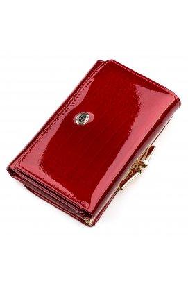 Кошелек женский ST Leather 18374 (S1201A) очень красивый Красный Красный
